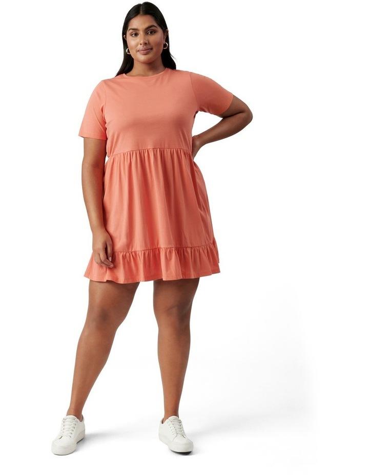 Ivy Curve Jersey Smock Dress Ginger image 5
