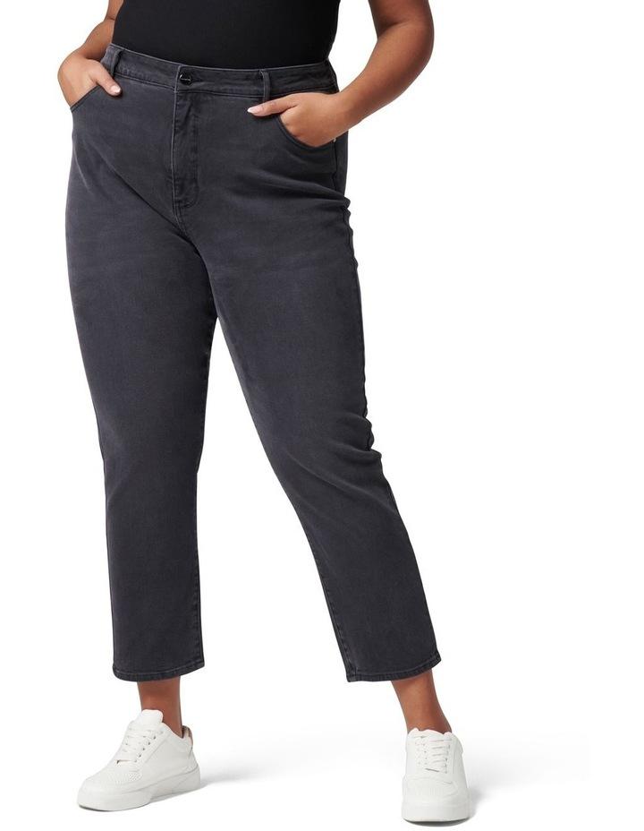 Eva Curve High Rise Mom Jean image 1