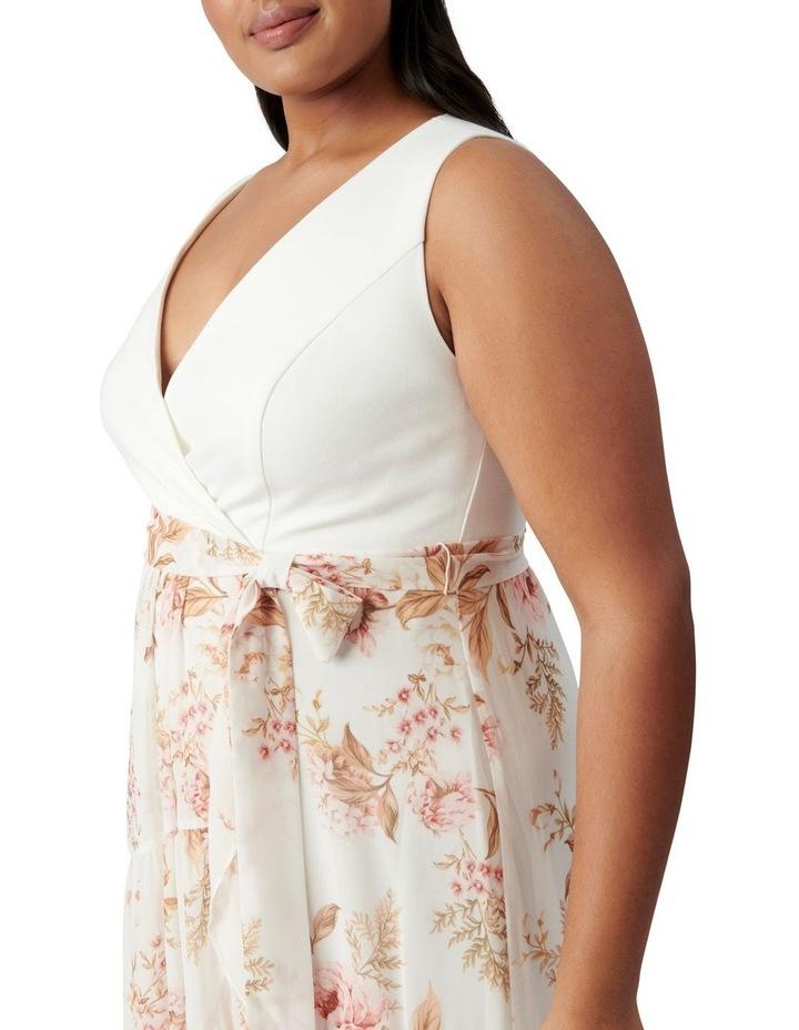 Clover Curve Wrap 2 In 1 Midi Dress Dusk Floral image 2