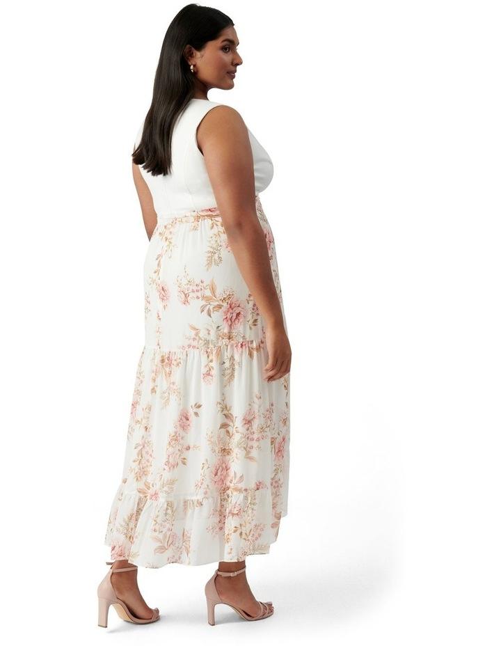 Clover Curve Wrap 2 In 1 Midi Dress Dusk Floral image 4
