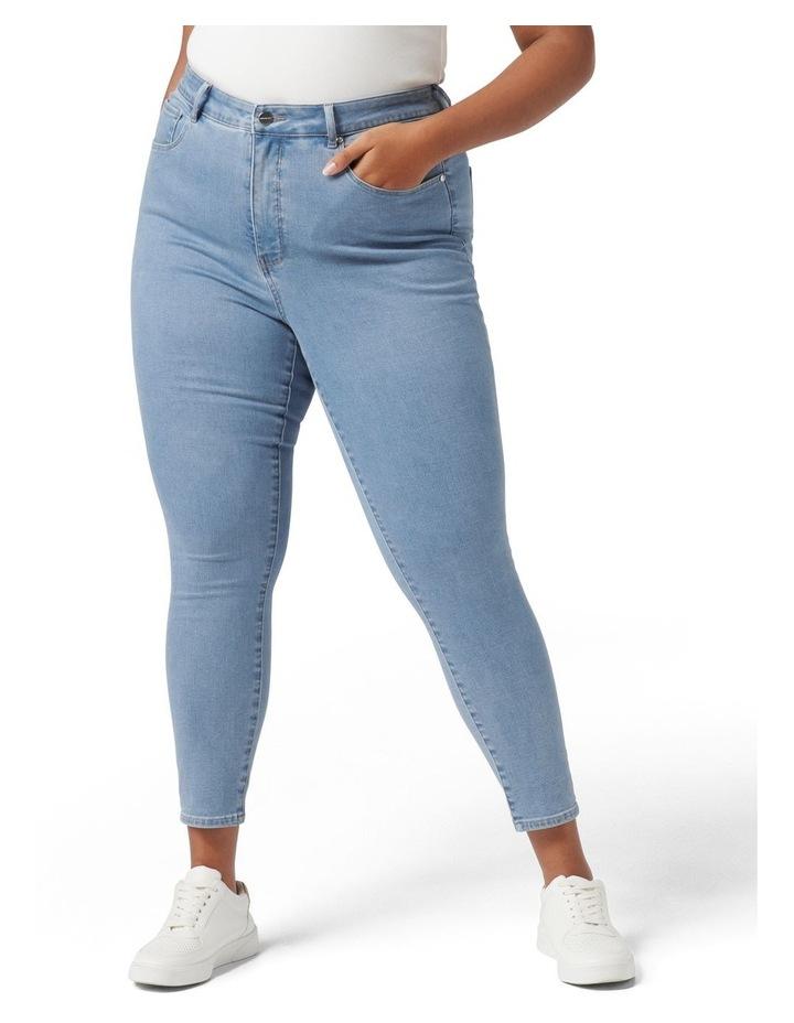 Belinda Curve High Rise Jean Light Wash image 1