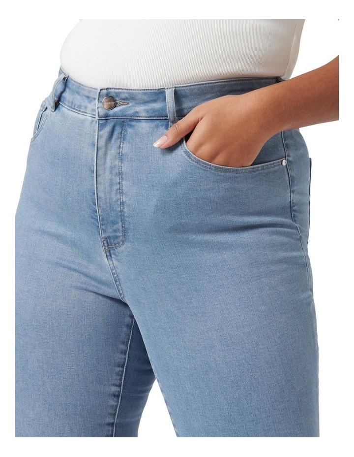 Belinda Curve High Rise Jean Light Wash image 2