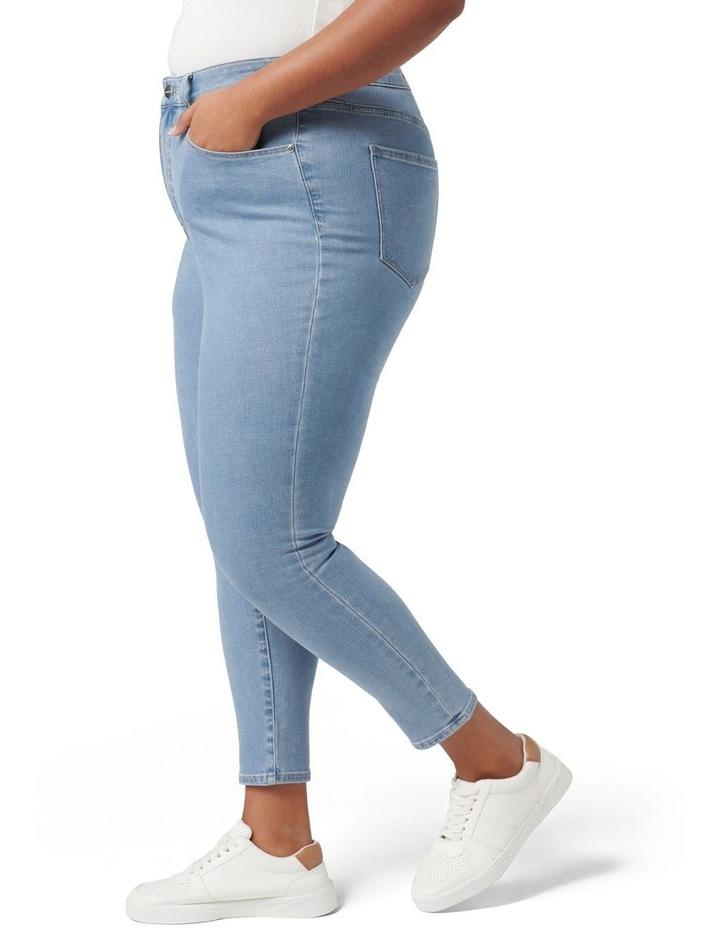 Belinda Curve High Rise Jean Light Wash image 3