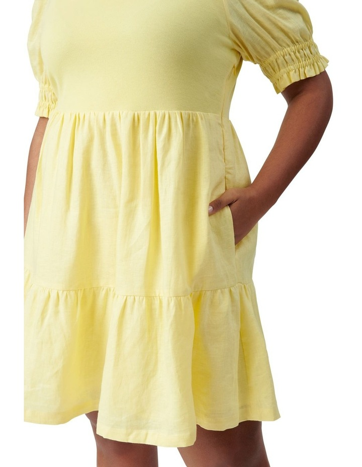 Shannon Curve Smock Dress Yellow image 2