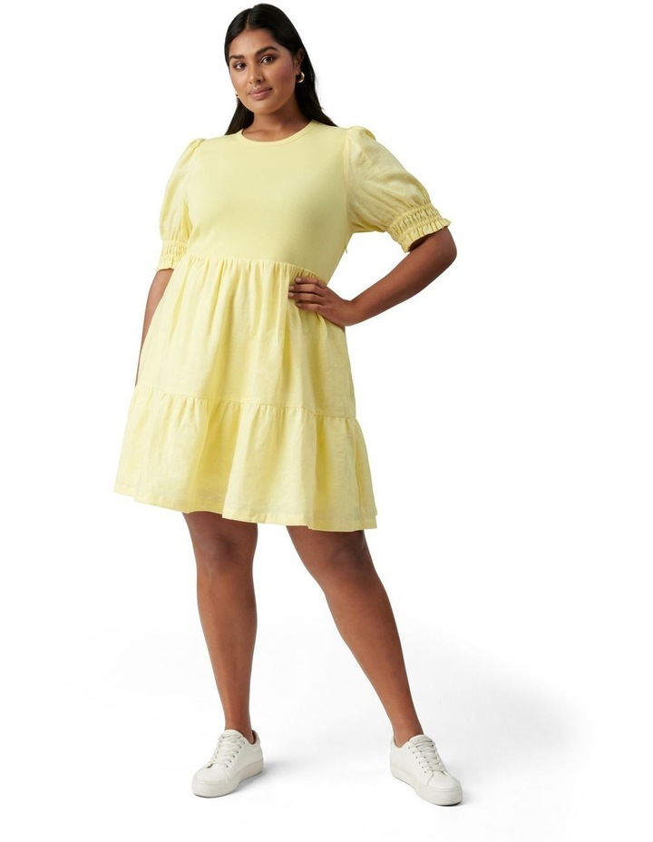 Shannon Curve Smock Dress Yellow image 5