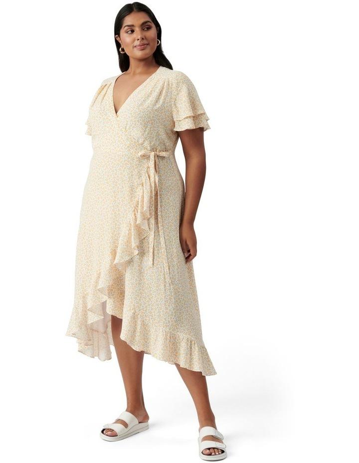 Alexis Curve Wrap Dress Westdale Ditsy image 1