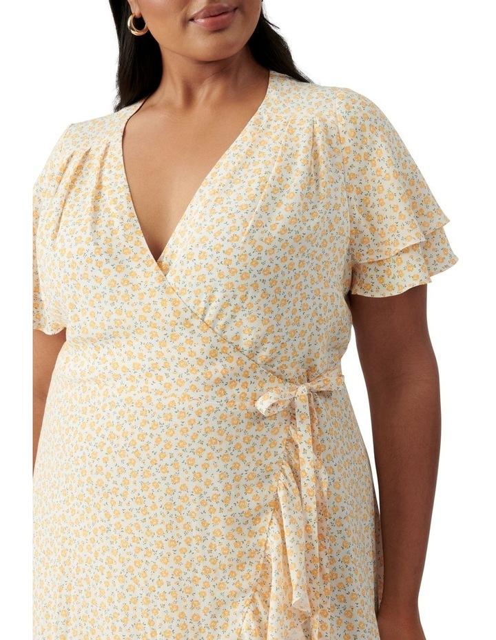 Alexis Curve Wrap Dress Westdale Ditsy image 2