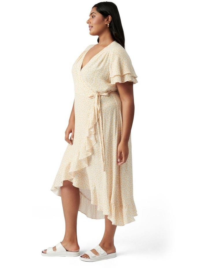 Alexis Curve Wrap Dress Westdale Ditsy image 3