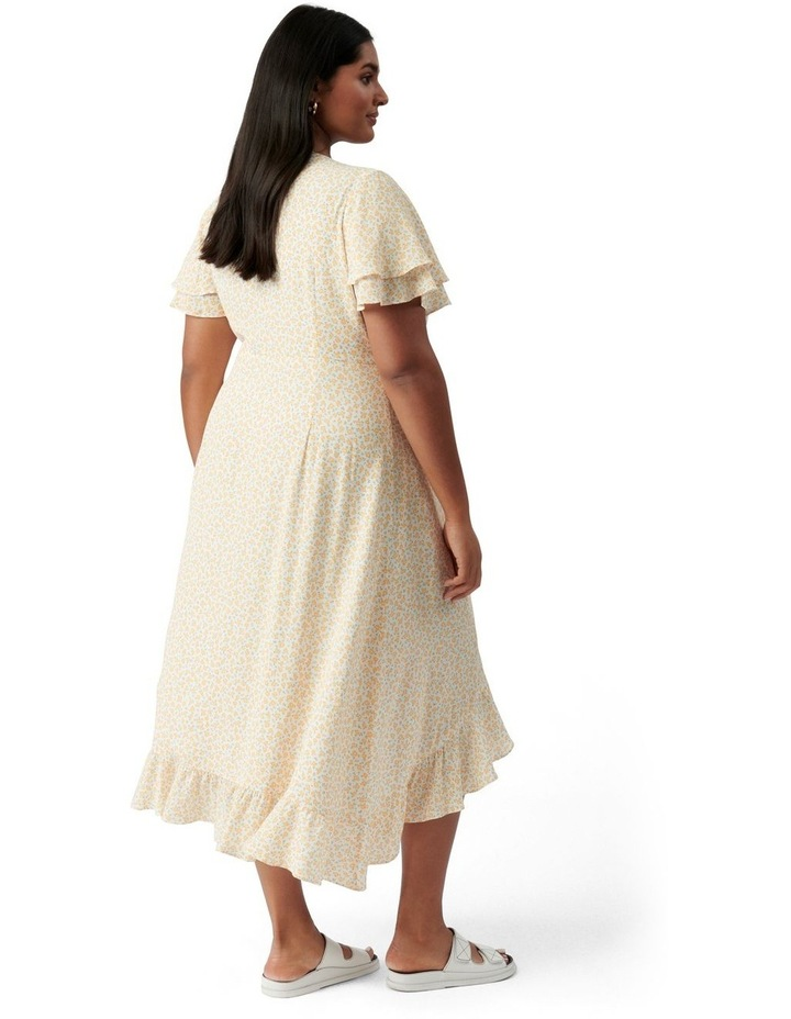Alexis Curve Wrap Dress Westdale Ditsy image 4