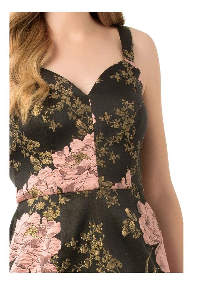 Midnight Lotus Dress image 4
