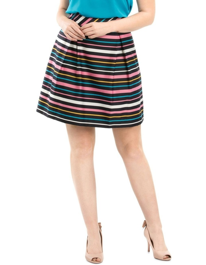 Rainbow Stripe Skirt image 1