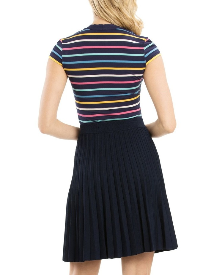Lila Stripe Top image 3
