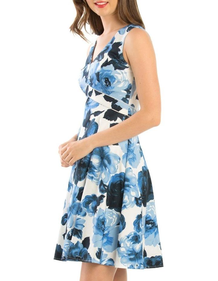 Miley Blue Rose Dress image 2