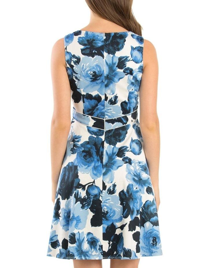 Miley Blue Rose Dress image 3