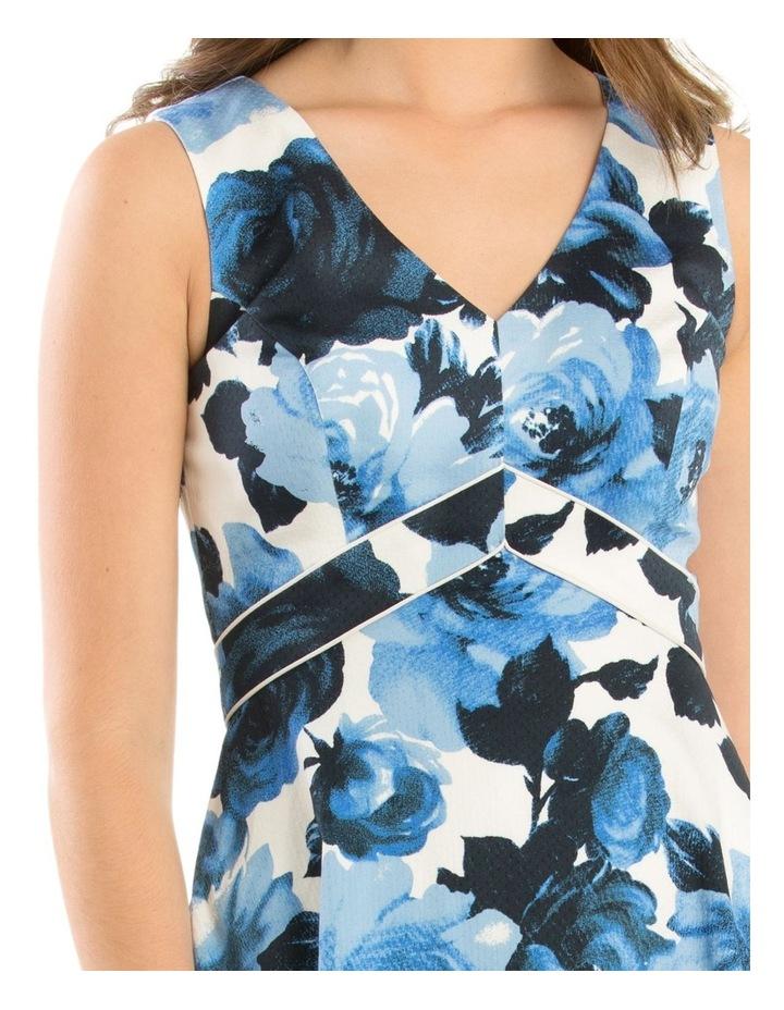 Miley Blue Rose Dress image 4