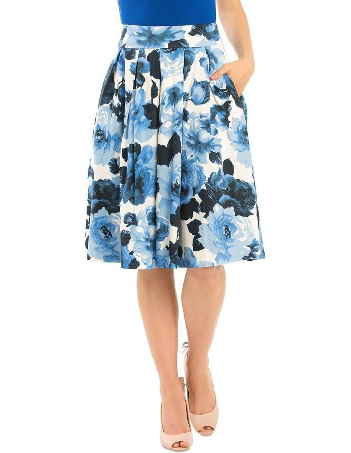 Miley Blue Rose Skirt image 1