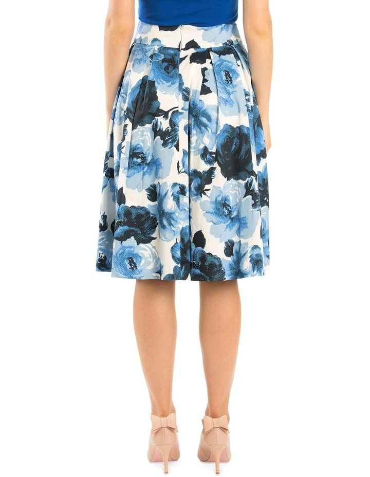 Miley Blue Rose Skirt image 3