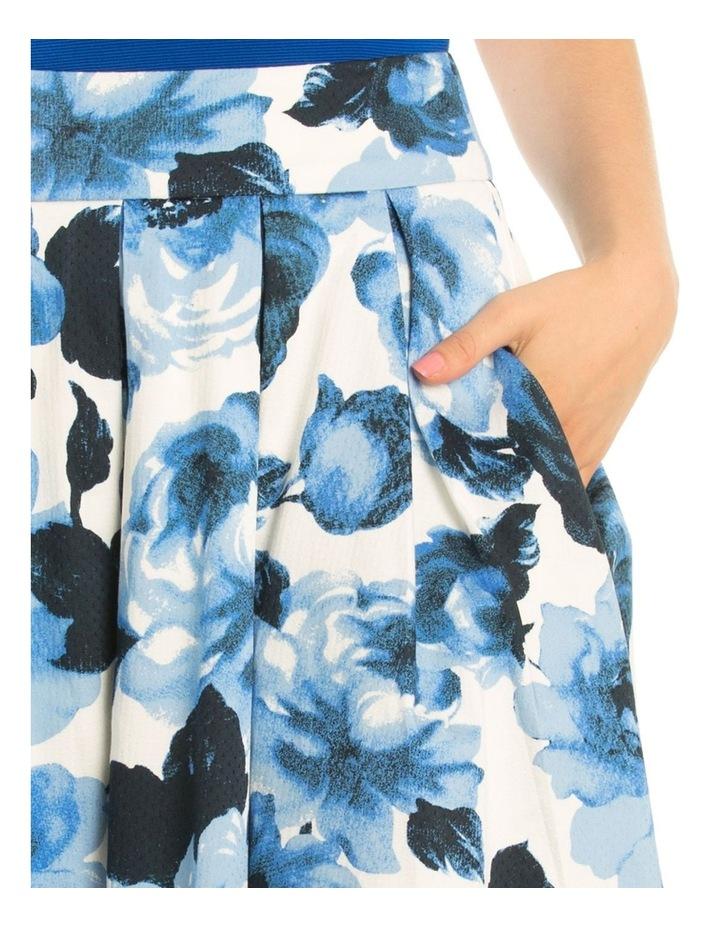 Miley Blue Rose Skirt image 4