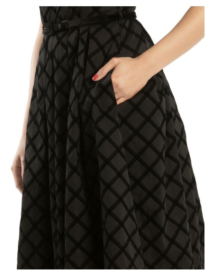 Cassia Check Dress image 4