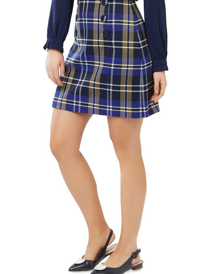Davenport Check Skirt image 2