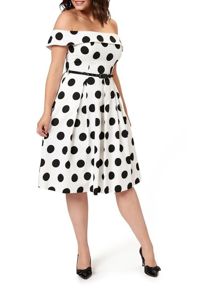 Monaco Spot Dress image 4