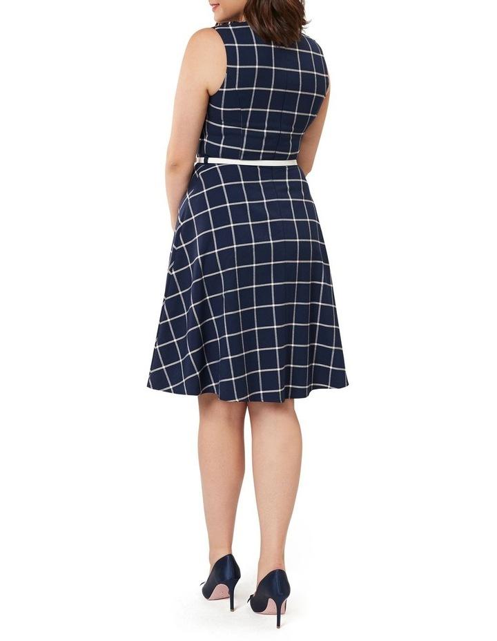 Veronica Check Dress image 5