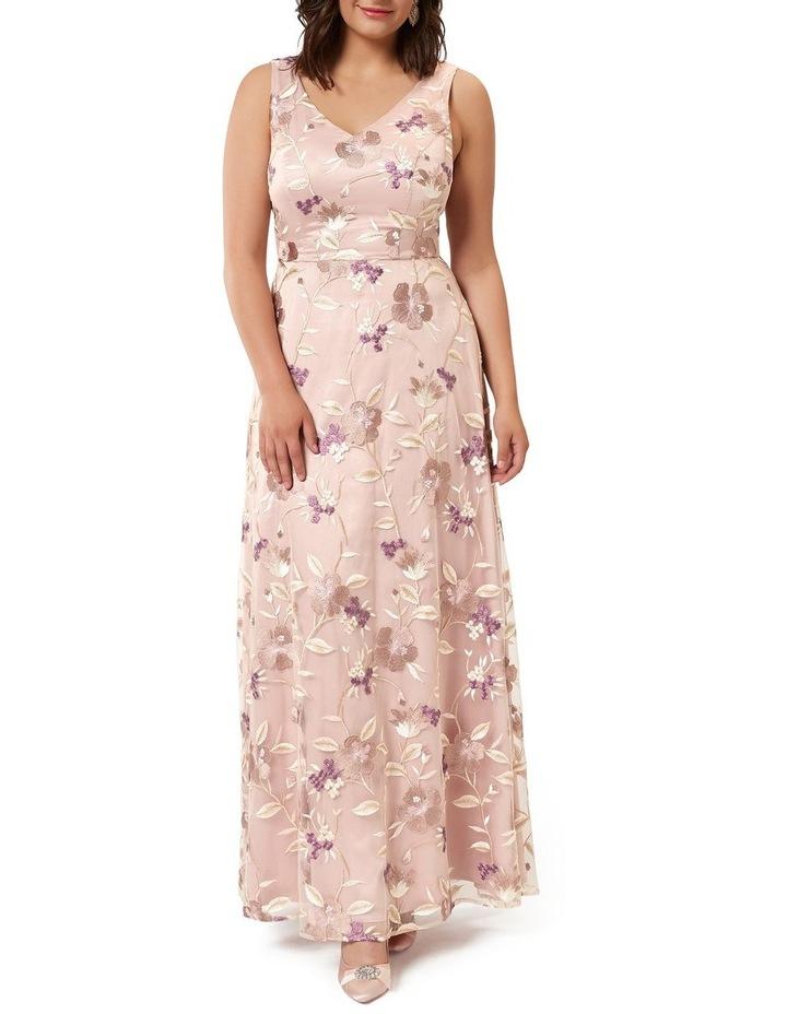 Bella Floral Maxi Dress image 4