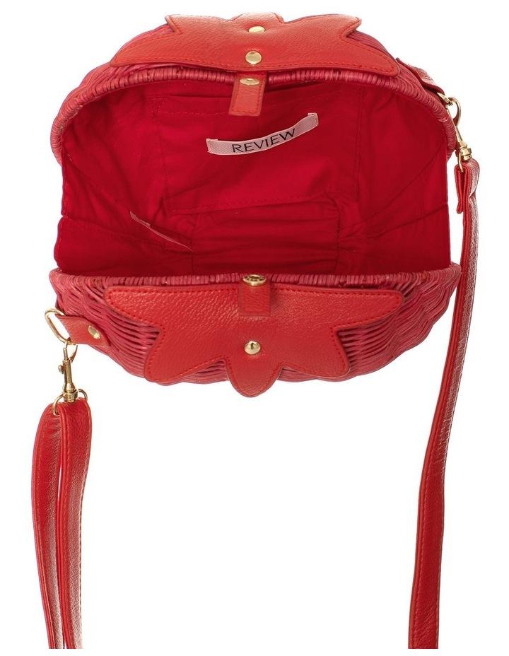 Strawberry Wicker Bag image 3