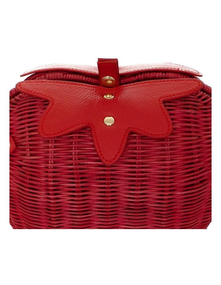 Strawberry Wicker Bag image 4