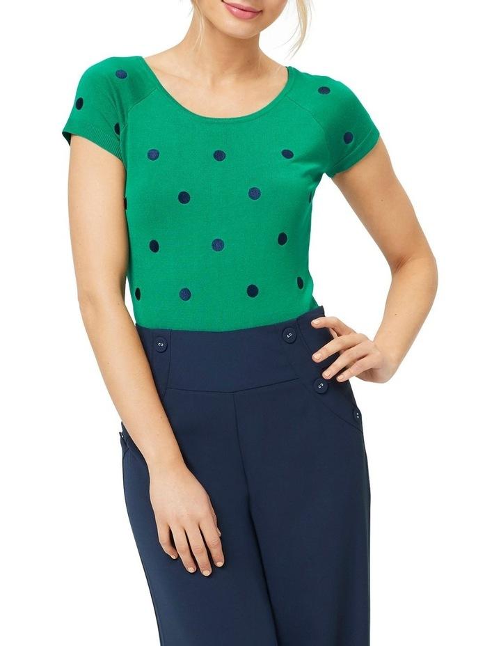 Lovely Ladybug Knit Top image 1