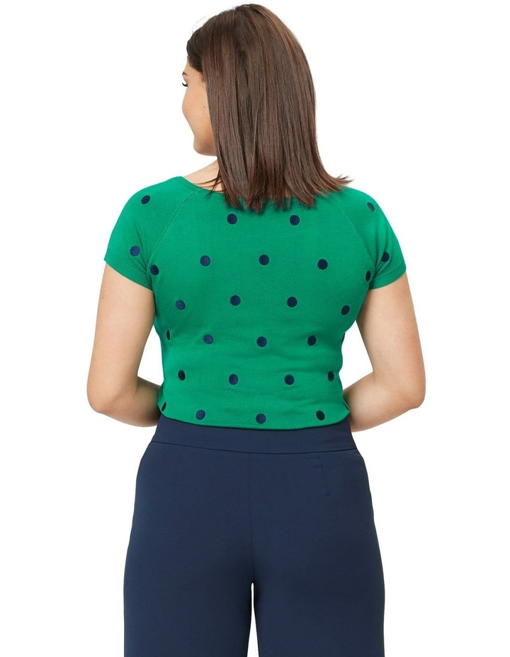 Lovely Ladybug Knit Top image 4