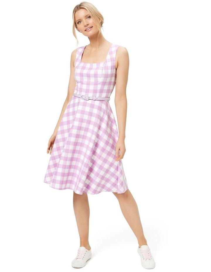 Arabella Check Dress image 3