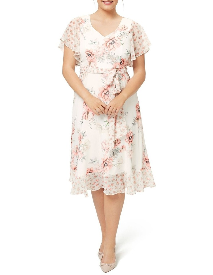 Georgia Peach Midi Dress image 1