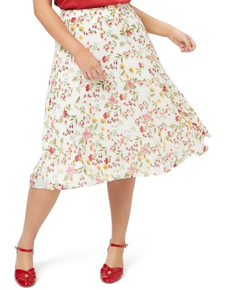 Sunset Floral Skirt image 3