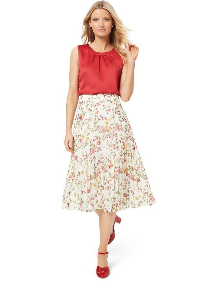 Sunset Floral Skirt image 7