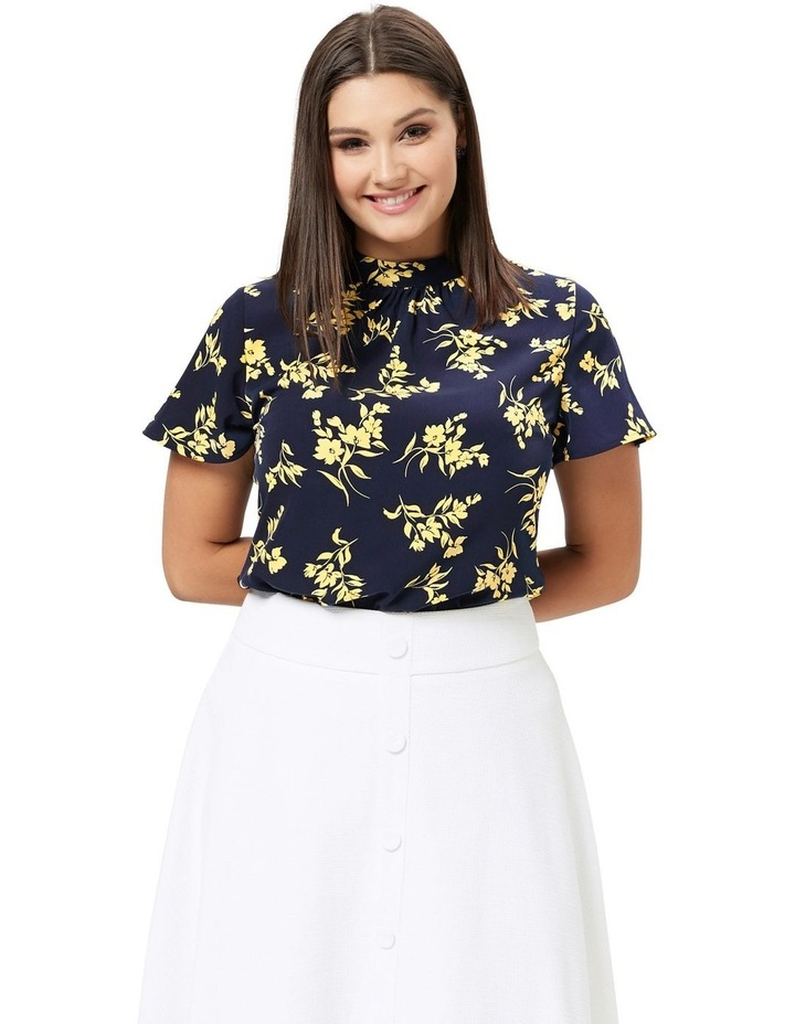 Aster Floral Top image 3