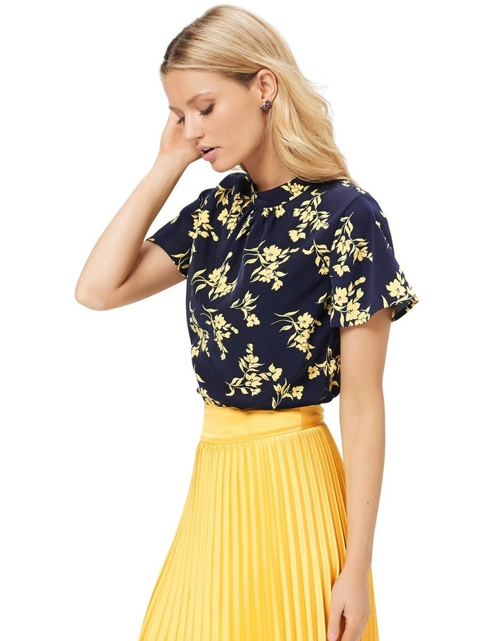 Aster Floral Top image 5