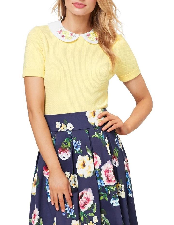 Daisy Chain Collar Jumper image 1