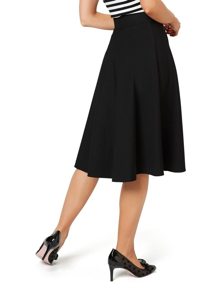 Taylor Skater Ponte Skirt image 4
