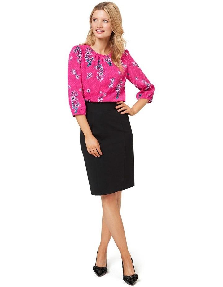Hepburn Ponte Skirt image 7