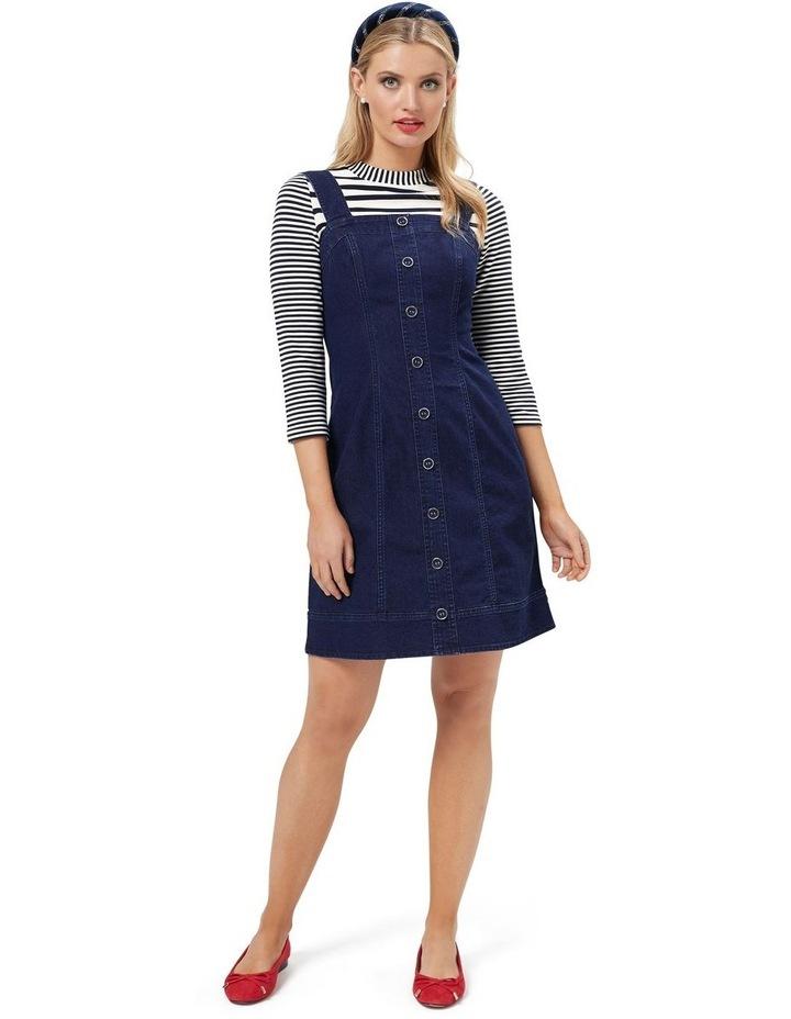 Miranda Denim Pinny Dress image 1