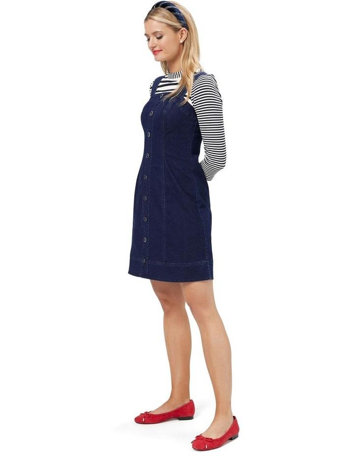 Miranda Denim Pinny Dress image 3