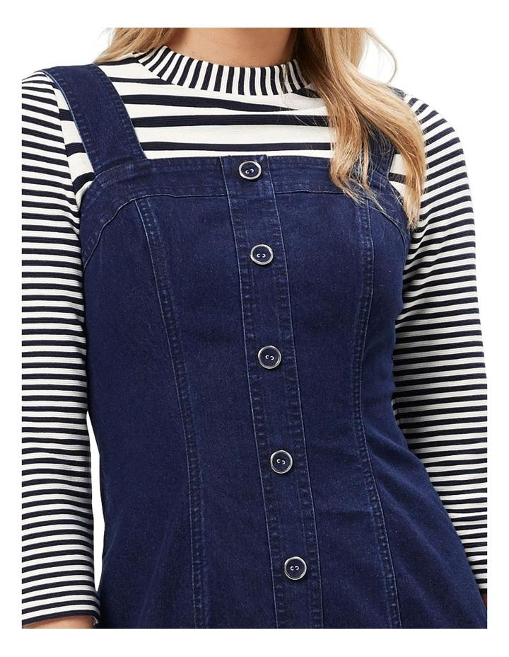 Miranda Denim Pinny Dress image 4