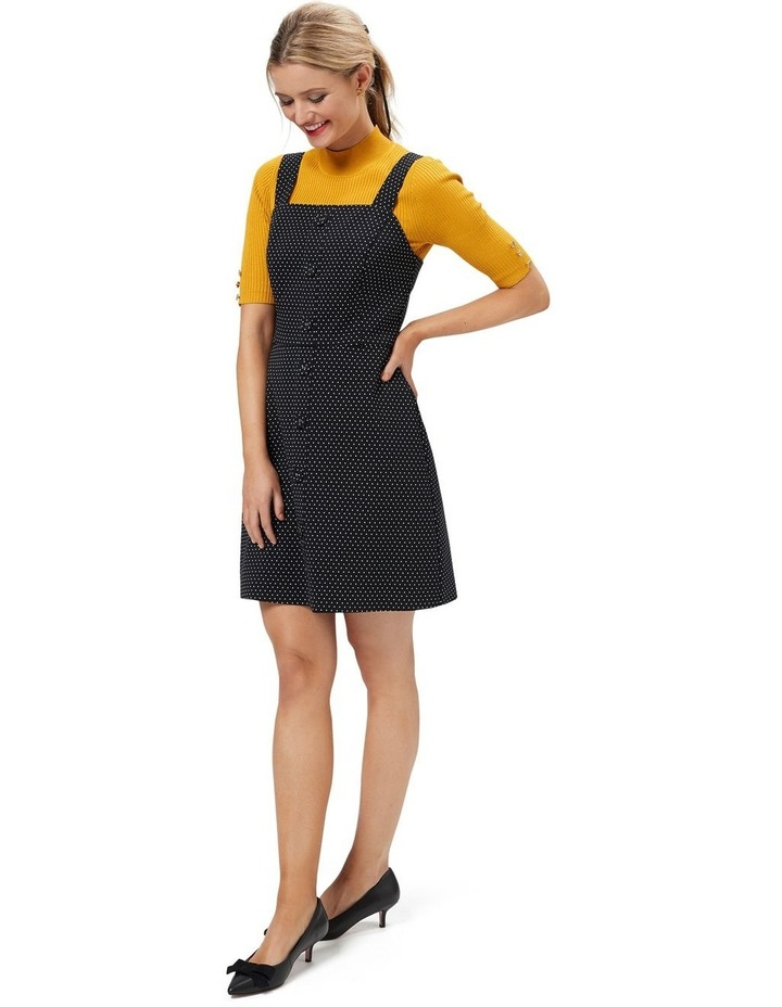 Anita Spot Pinny Dress image 3