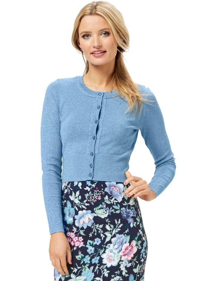 Chessie Shimmer Long Sleeve Cardi image 1