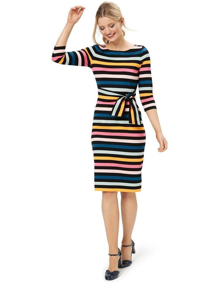 Cavello Stripe Ponte Dress image 1