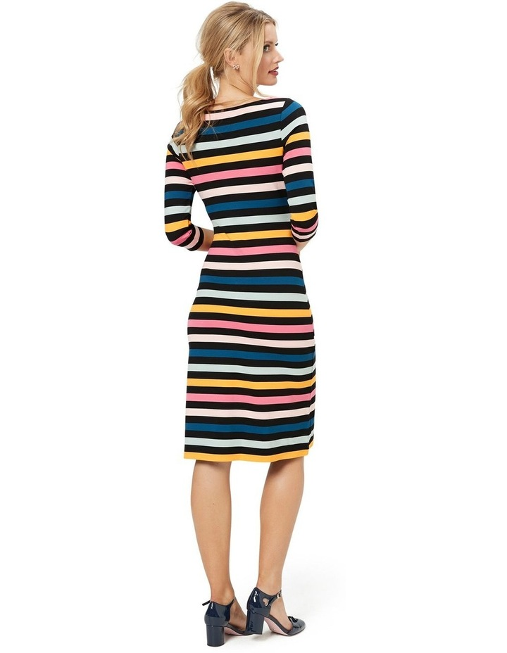 Cavello Stripe Ponte Dress image 3
