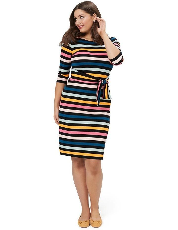 Cavello Stripe Ponte Dress image 5