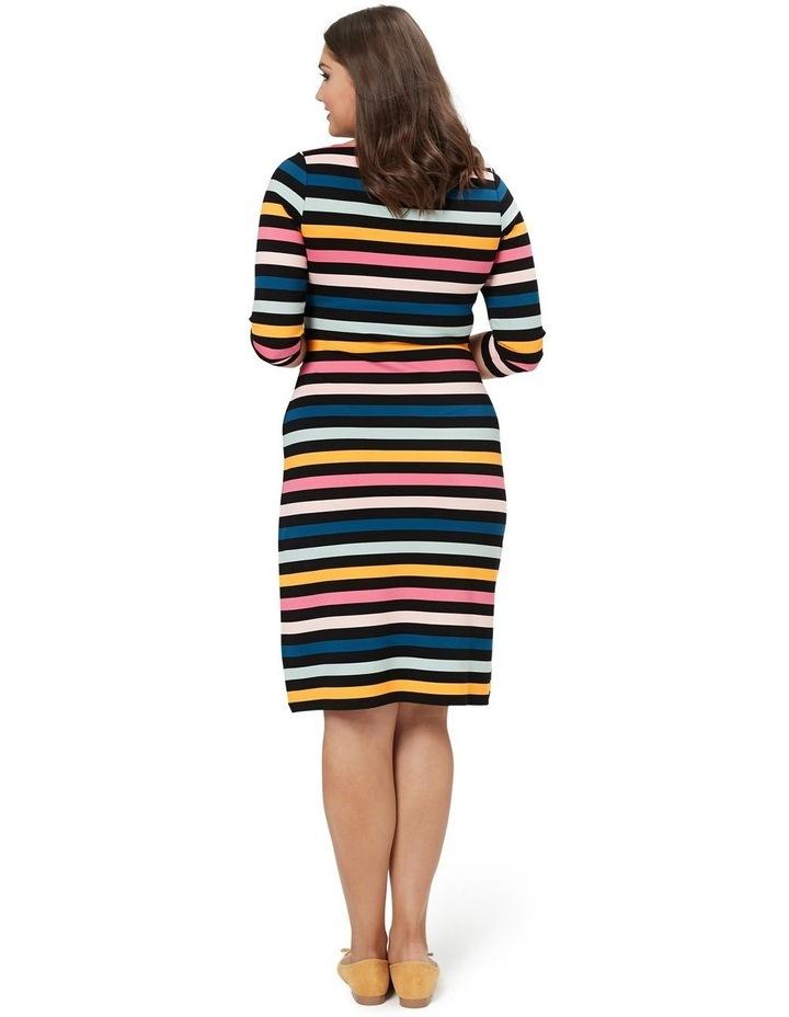 Cavello Stripe Ponte Dress image 6