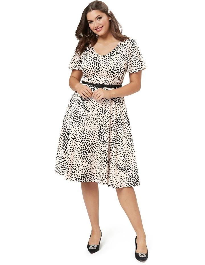 Tuxedo Spot Dress image 4